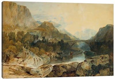 Rosthwaite Bridge, Borrowdale, c.1802  Canvas Art Print