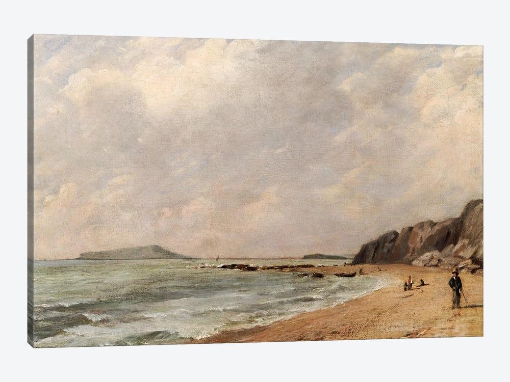 A View of Osmington Bay, Dorset, Looking Towards Portland Island by John Constable 1-piece Canvas Artwork