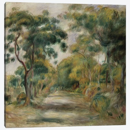 Landscape at Noon, 1900  Canvas Print #BMN5059} by Pierre-Auguste Renoir Canvas Wall Art