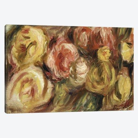 Roses, 1919  Canvas Print #BMN5060} by Pierre-Auguste Renoir Art Print