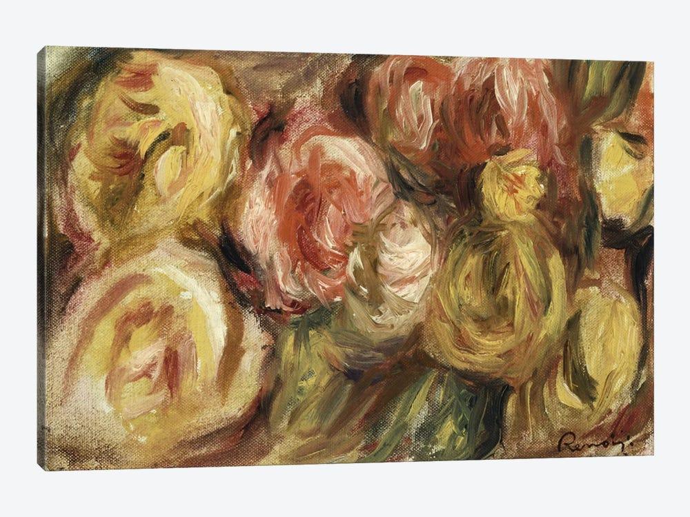 Roses, 1919  by Pierre-Auguste Renoir 1-piece Canvas Art Print