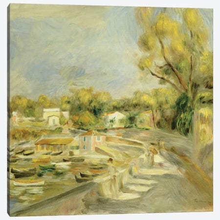 Cagnes Countryside  Canvas Print #BMN5067} by Pierre-Auguste Renoir Canvas Wall Art