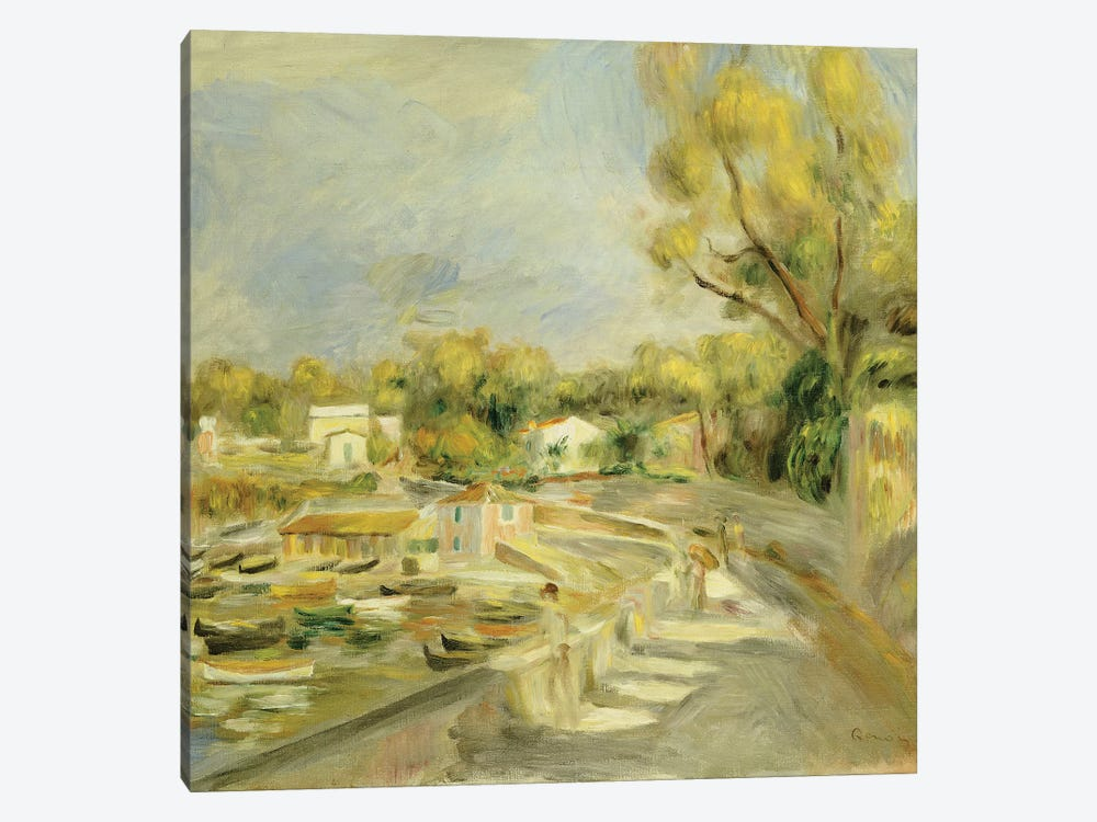 Cagnes Countryside  by Pierre-Auguste Renoir 1-piece Canvas Artwork