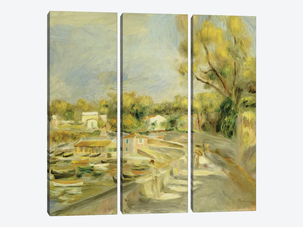 Cagnes Countryside  by Pierre-Auguste Renoir 3-piece Canvas Art