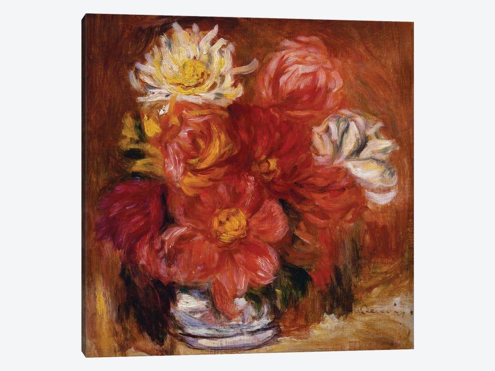 Dahlia, c.1890  by Pierre-Auguste Renoir 1-piece Art Print