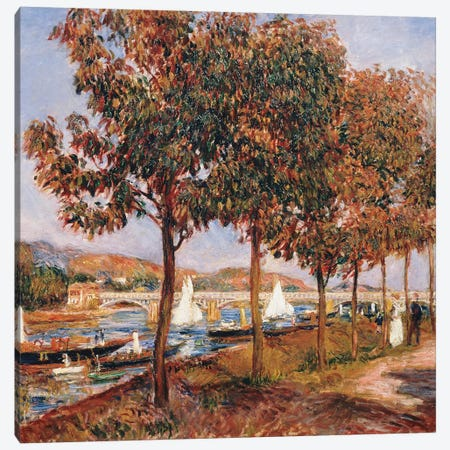 The Bridge at Argenteuil  Canvas Print #BMN5072} by Pierre-Auguste Renoir Canvas Art