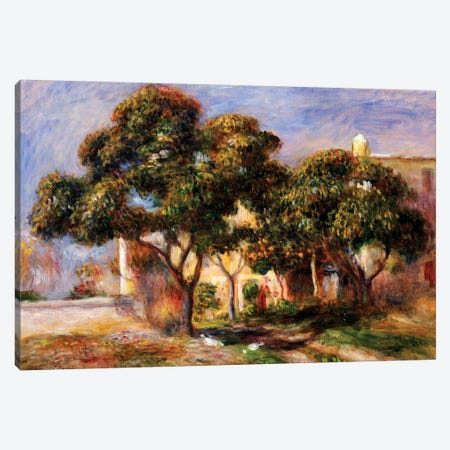 The Medlar Trees  Canvas Print #BMN5073} by Pierre-Auguste Renoir Canvas Art