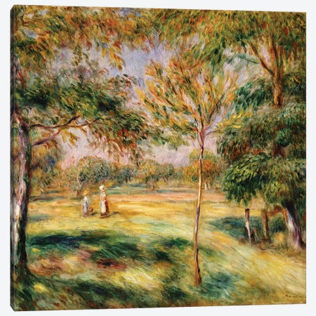 The Glade, 1895  Canvas Print #BMN5074} by Pierre-Auguste Renoir Canvas Art Print