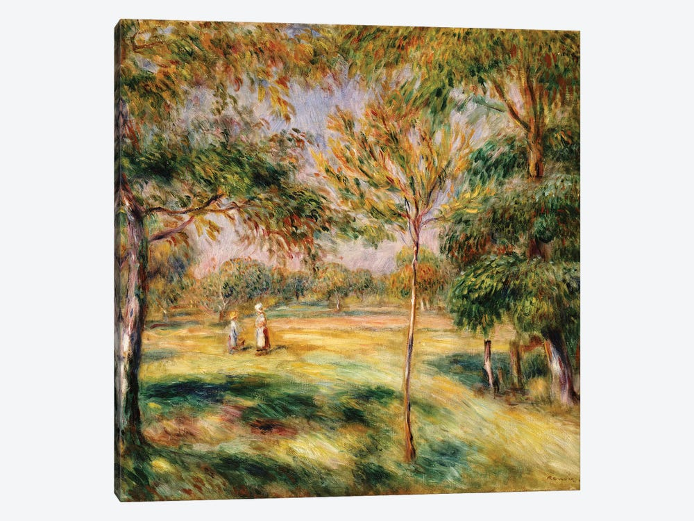 The Glade, 1895  by Pierre-Auguste Renoir 1-piece Canvas Art