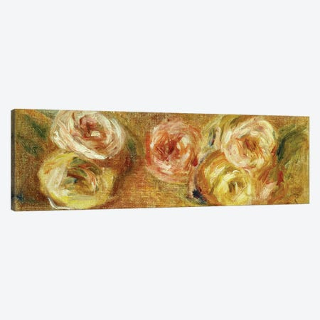 Strewn Roses, c.1915  Canvas Print #BMN5075} by Pierre-Auguste Renoir Art Print