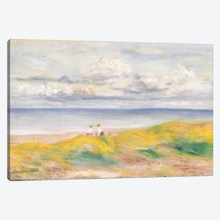 On the Cliffs, 1880  Canvas Print #BMN5076} by Pierre-Auguste Renoir Canvas Print