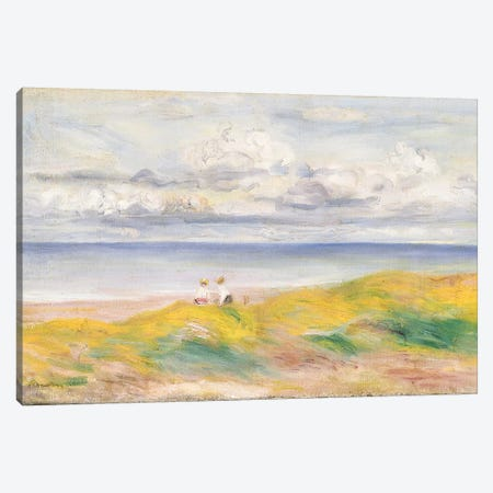 On the Cliffs, 1880  Canvas Print #BMN5076} by Pierre-Auguste Renoir Canvas Print
