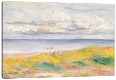 On the Cliffs, 1880  Canvas Art Print