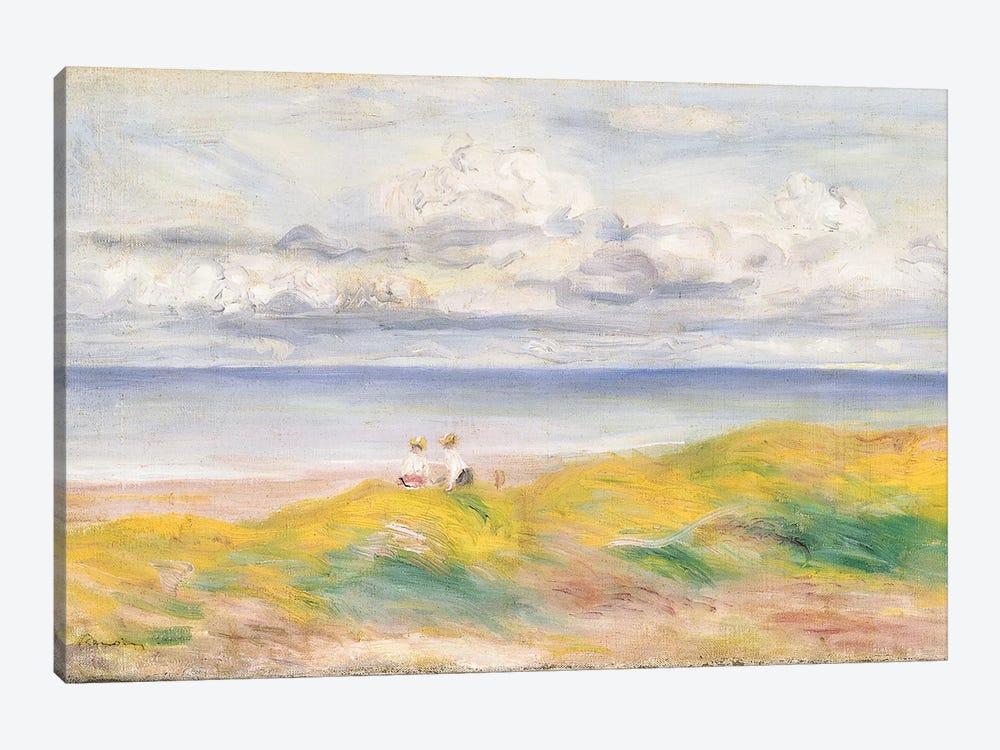 On the Cliffs, 1880  by Pierre-Auguste Renoir 1-piece Canvas Art