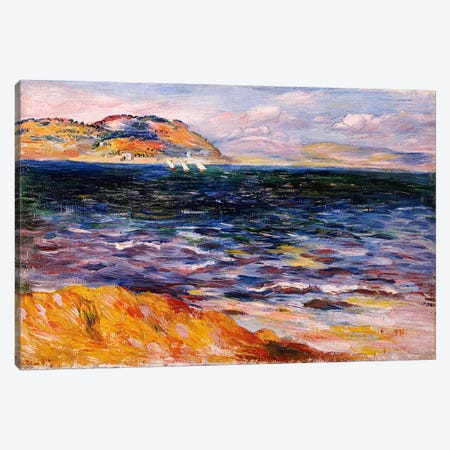 Bordighera, c.1888  Canvas Print #BMN5080} by Pierre-Auguste Renoir Canvas Print