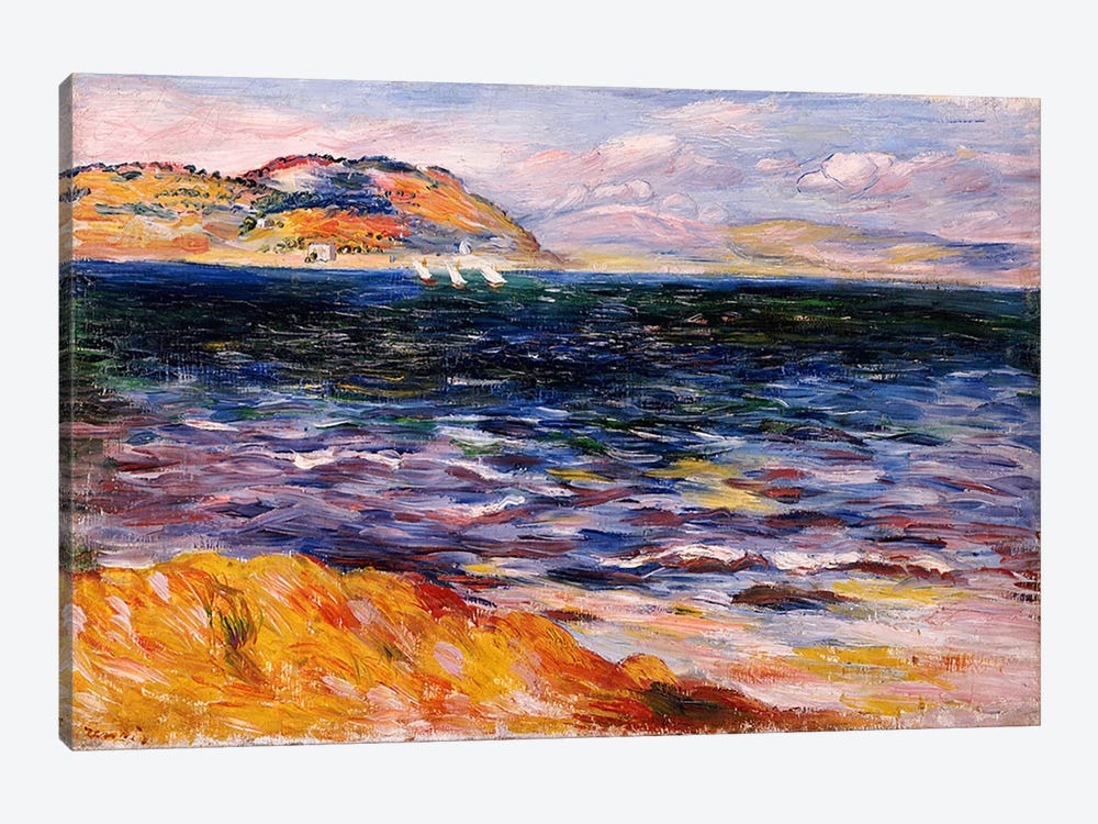Bordighera, c.1888 by Pierre-Auguste Renoir 1-piece Canvas Print