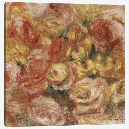 Flower Sketch, c.1914  Canvas Print #BMN5081} by Pierre-Auguste Renoir Art Print