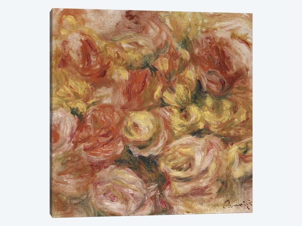 Flower Sketch, c.1914  by Pierre-Auguste Renoir 1-piece Canvas Artwork
