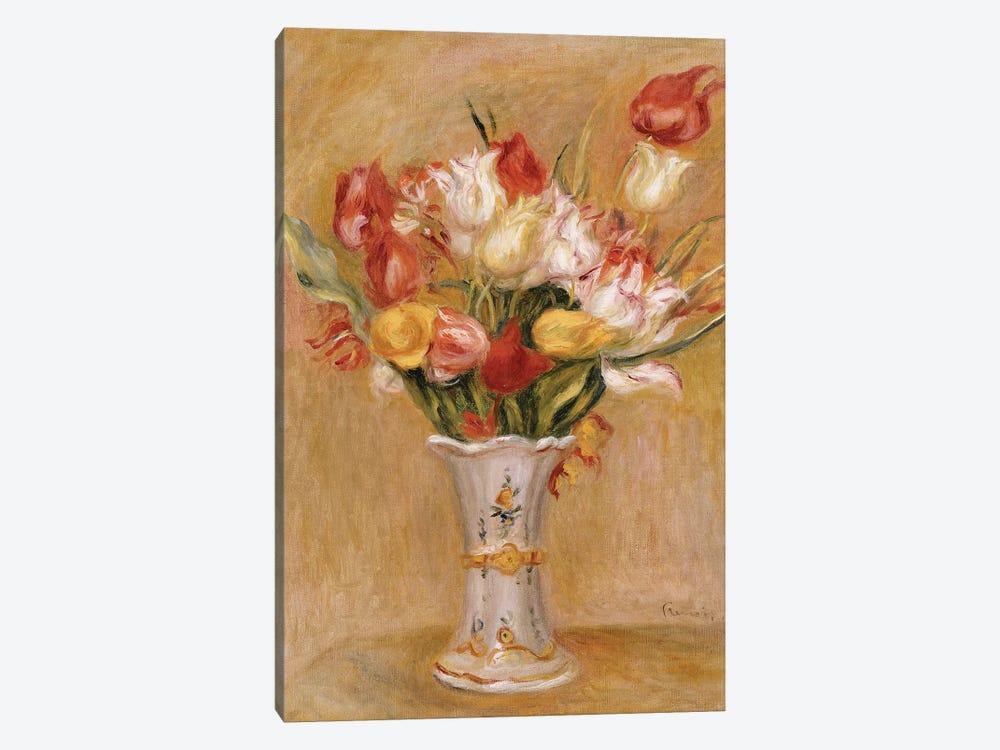 Tulips  by Pierre-Auguste Renoir 1-piece Art Print