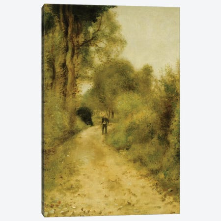 On the Path  Canvas Print #BMN5084} by Pierre-Auguste Renoir Canvas Wall Art