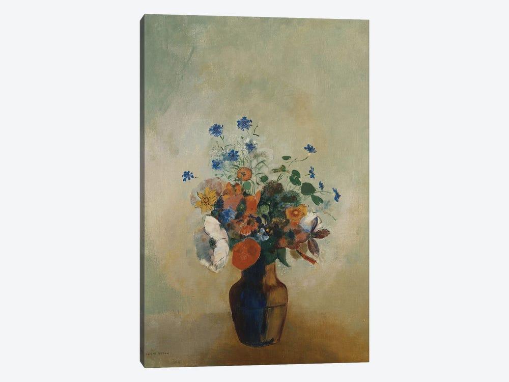 Wild Flowers, c.1902  by Odilon Redon 1-piece Art Print