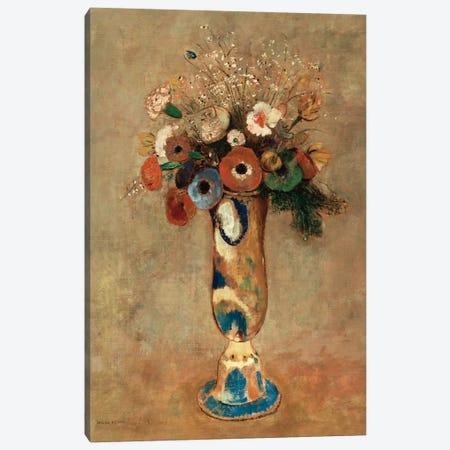 Vase of Flowers, 1912  Canvas Print #BMN5094} by Odilon Redon Canvas Art Print