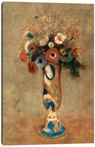 Vase of Flowers, 1912  Canvas Art Print