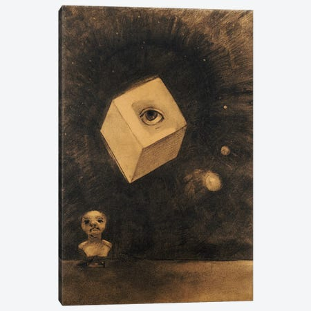 Eye  Canvas Print #BMN5096} by Odilon Redon Canvas Print