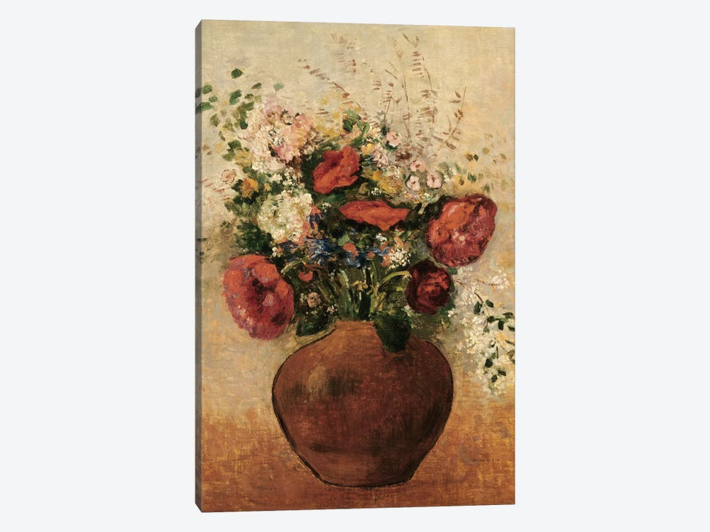 Vase of Flowers by Odilon Redon 1-piece Art Print