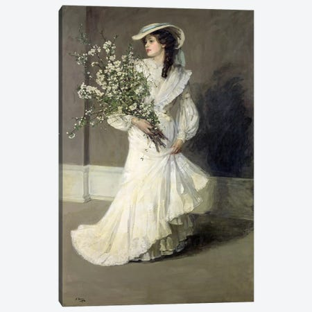 Spring  Canvas Print #BMN509} by Sir John Lavery Art Print