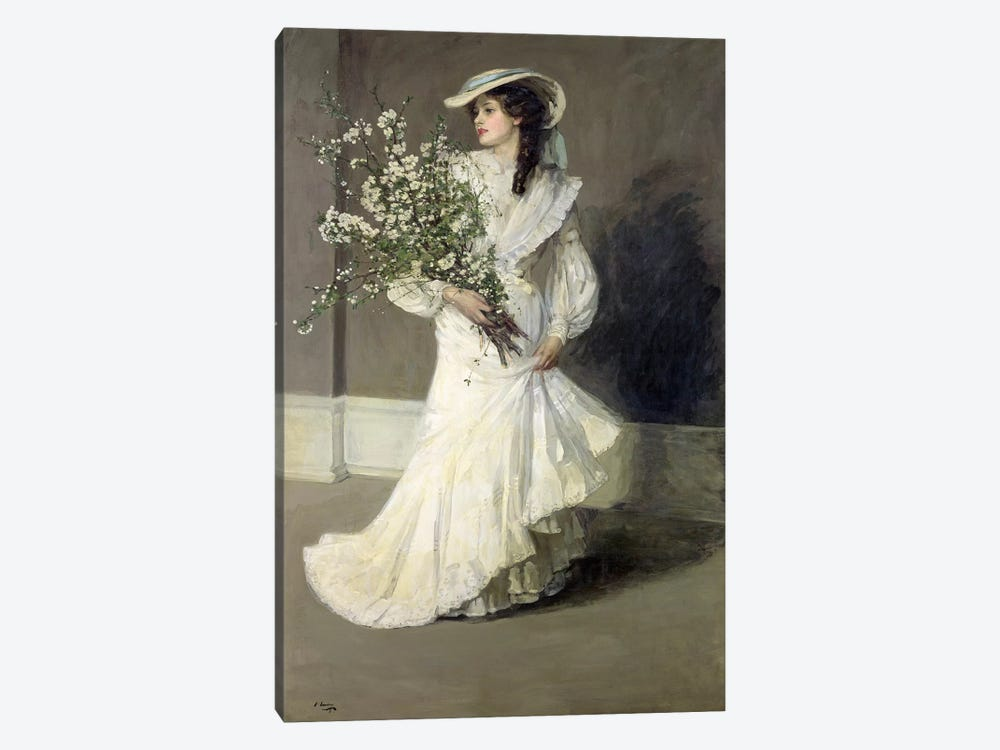 Spring  by Sir John Lavery 1-piece Canvas Art