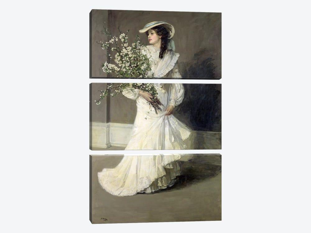 Spring  by Sir John Lavery 3-piece Canvas Artwork