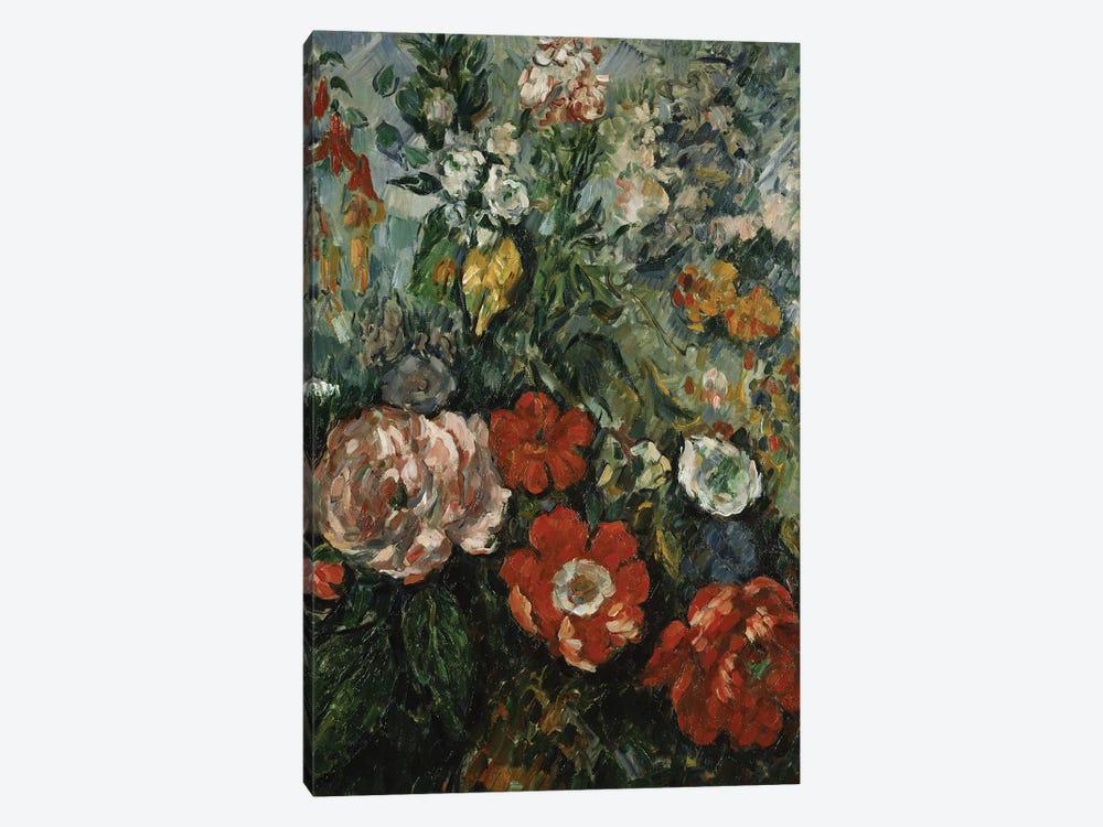 Flowers, c.1879  by Paul Cezanne 1-piece Canvas Print