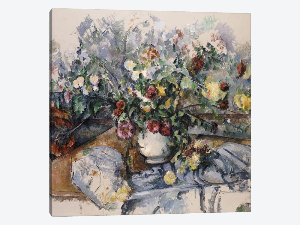 A Large Bouquet of Flowers, c.1892-95  by Paul Cezanne 1-piece Canvas Artwork