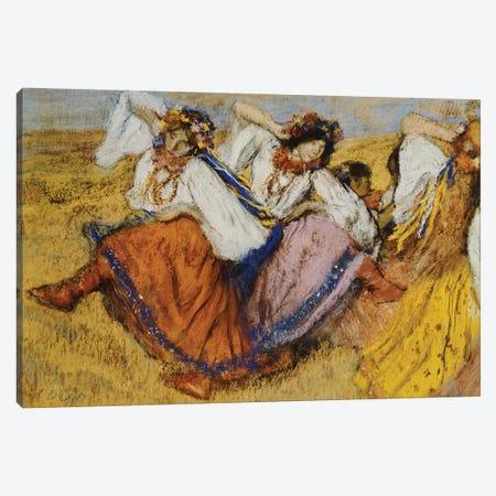 Russian Dancers, c.1895  Canvas Print #BMN5115} by Edgar Degas Canvas Art