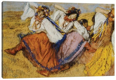 Russian Dancers, c.1895  Canvas Art Print