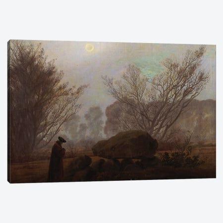A Walk in the Mountains  Canvas Print #BMN5123} by Caspar David Friedrich Canvas Wall Art