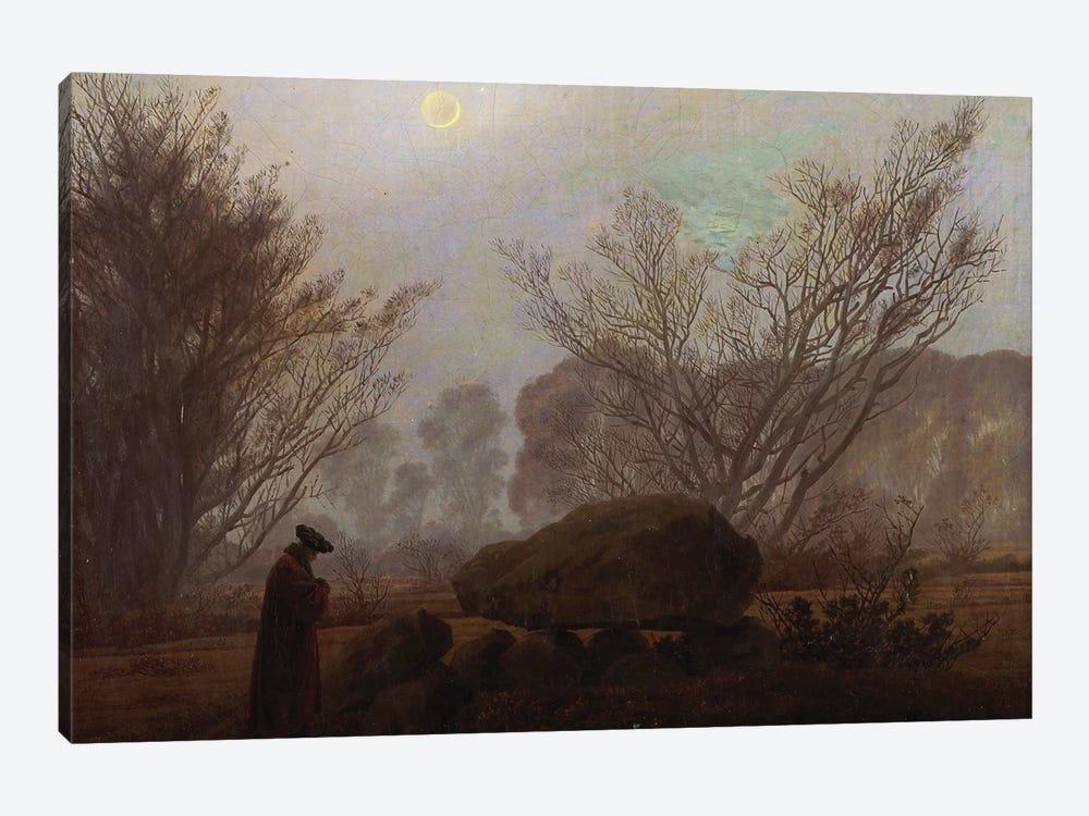 A Walk in the Mountains  by Caspar David Friedrich 1-piece Art Print