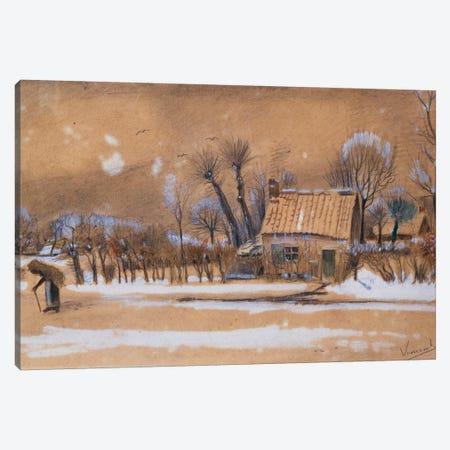 Winter, 1881  Canvas Print #BMN5128} by Vincent van Gogh Canvas Artwork