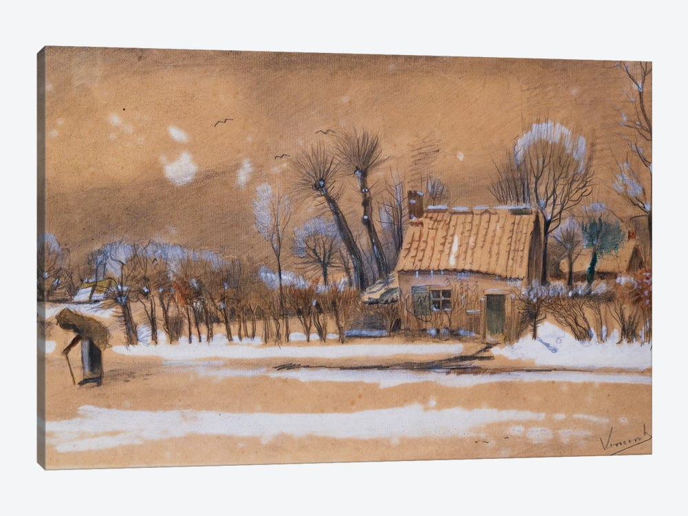 Winter, 1881  by Vincent van Gogh 1-piece Canvas Artwork