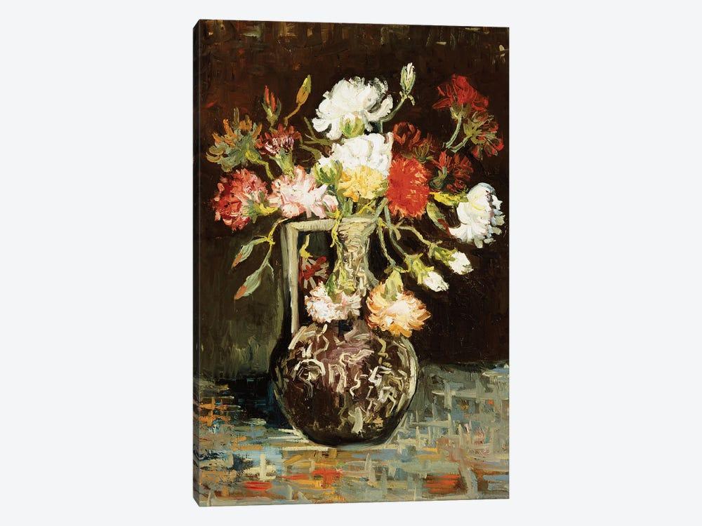 Bouquet of Flowers  by Vincent van Gogh 1-piece Canvas Art Print