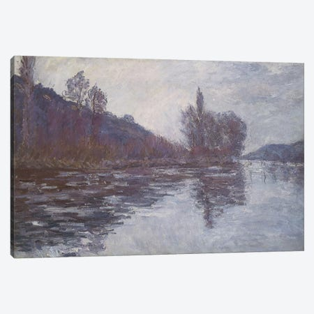 The Seine near Giverny, 1894  Canvas Print #BMN5135} by Claude Monet Canvas Wall Art