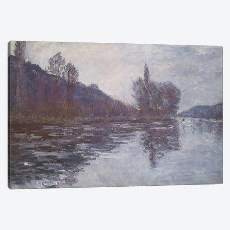 The Seine near Giverny, 1894  Canvas Print #BMN5135} by Claude Monet Canvas Wall Art
