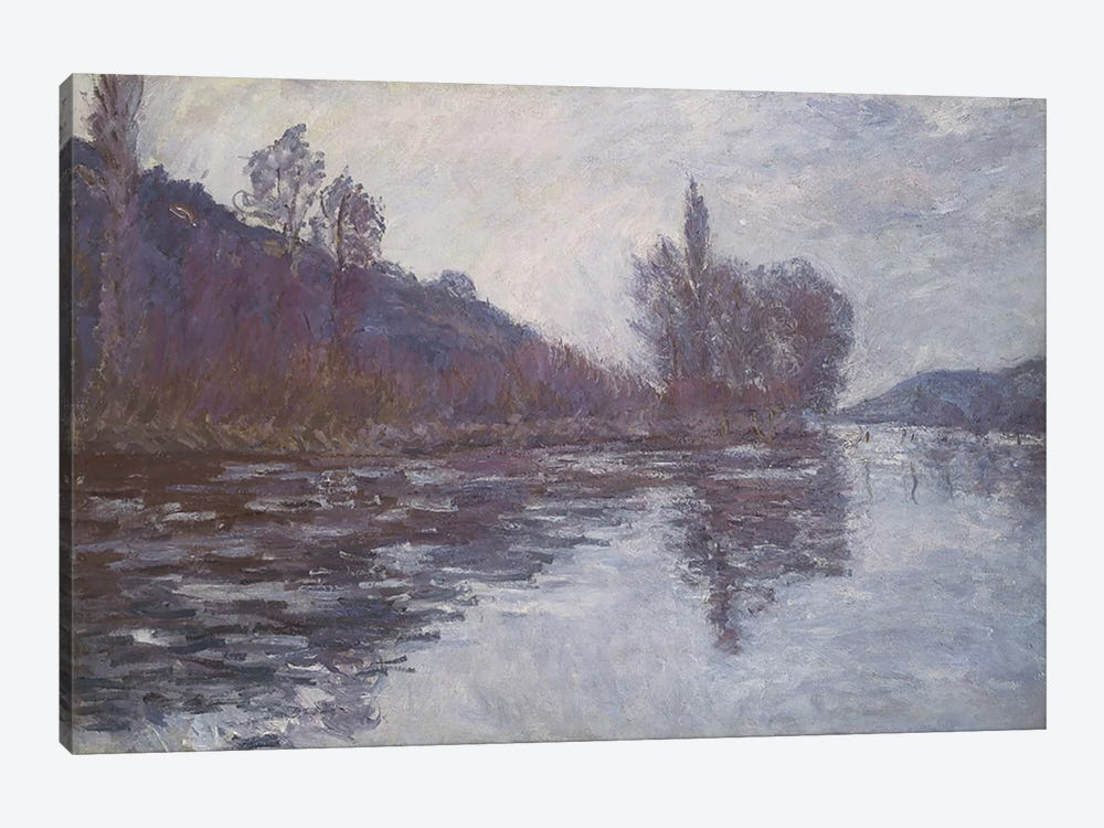 The Seine near Giverny, 1894  by Claude Monet 1-piece Canvas Wall Art
