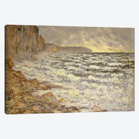 Seafront, Fecamp, 1881  Canvas Print #BMN5141} by Claude Monet Canvas Wall Art
