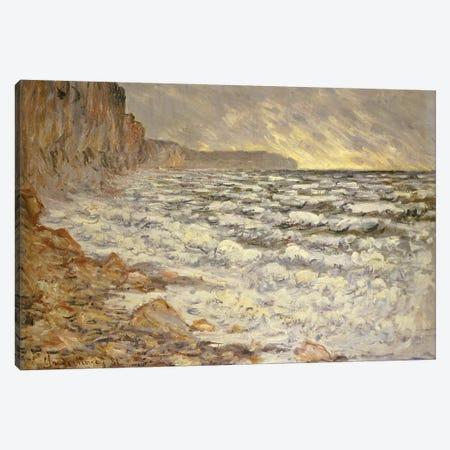 Seafront, Fecamp, 1881  Canvas Print #BMN5141} by Claude Monet Canvas Wall Art