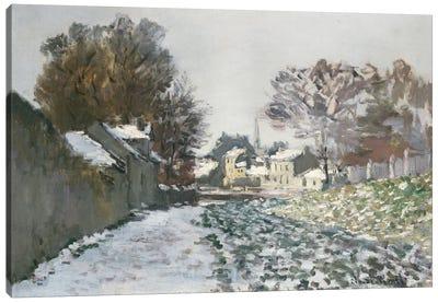 Snow at Argenteuil, c.1874  Canvas Art Print