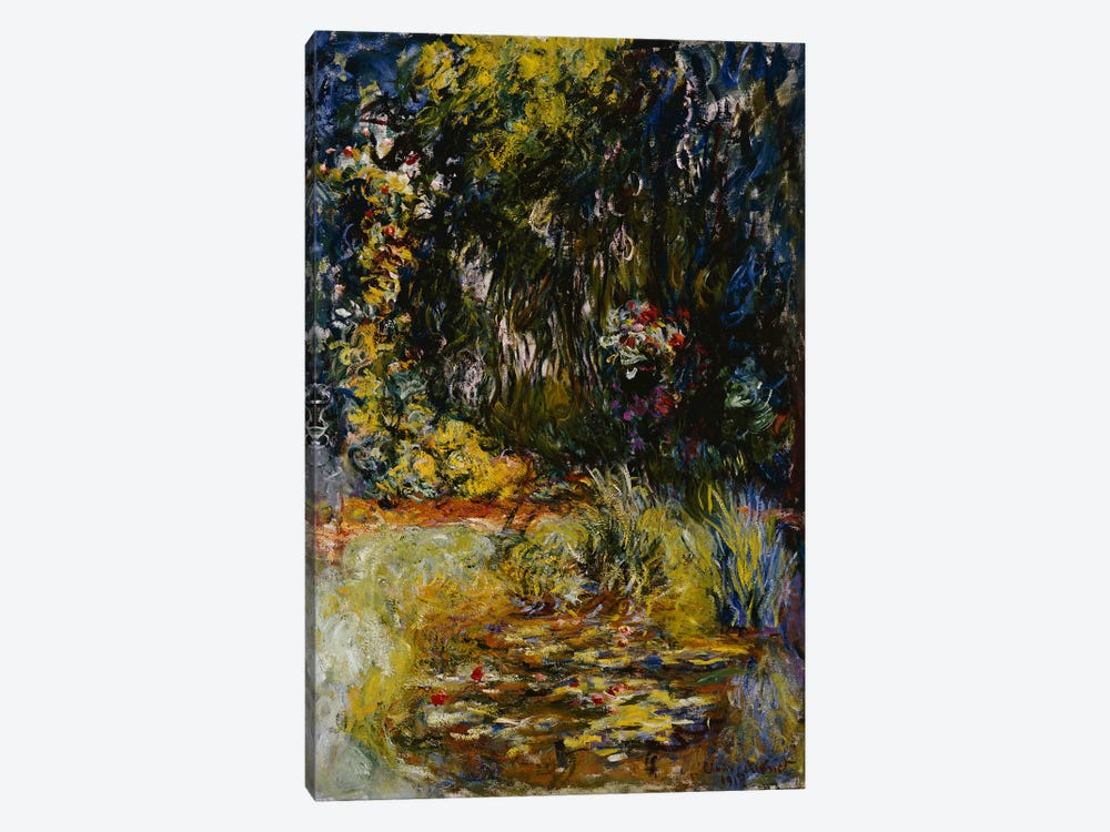 Corner of a Pond with Waterlilies, 1918  by Claude Monet 1-piece Canvas Print