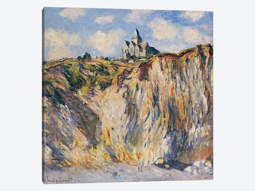 Church at Varengeville, Morning, 1882  by Claude Monet 1-piece Art Print
