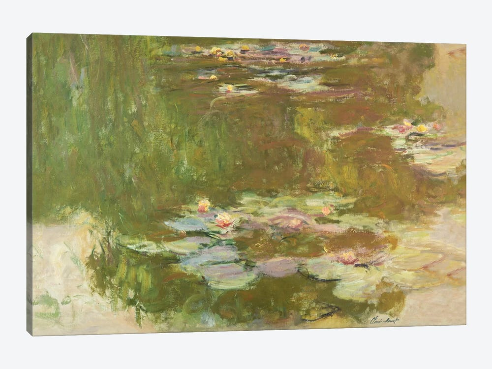 Lily Pond, 1881  by Claude Monet 1-piece Canvas Art